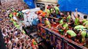 Праздник безумия Ла Томатина в Буньоле