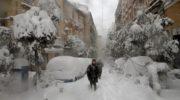 Жизнь в Мадриде налаживается после снежной бури «Филомена»